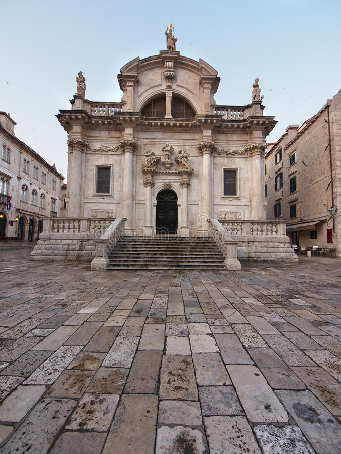 Download Church Of Saint Blaise In Dubrovnik , Croatia Stock Photo - Image: 27485758