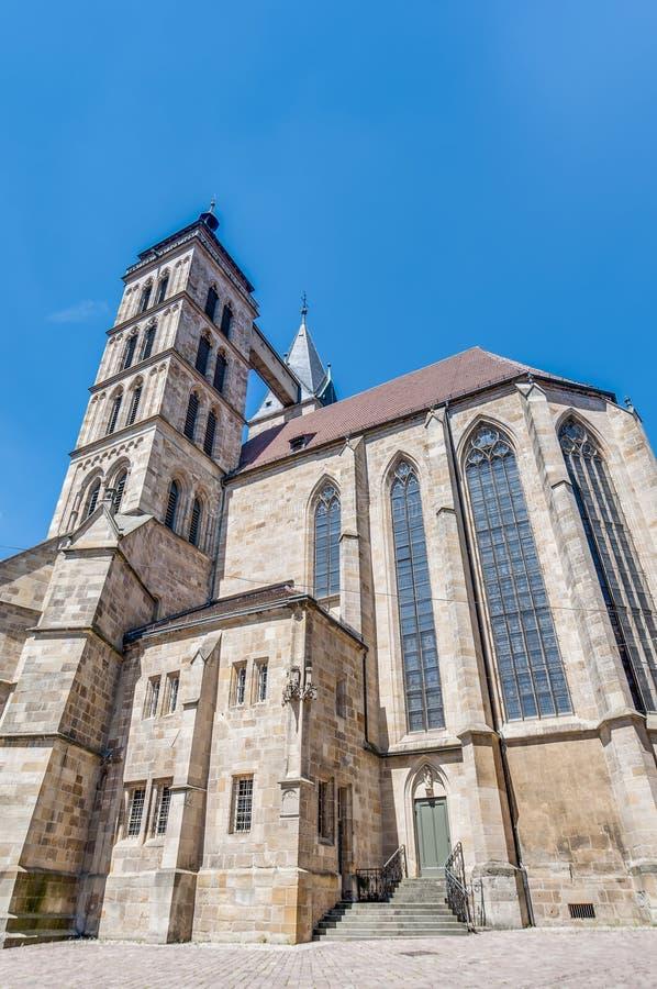 Download Church Of Saint Dionysius  In Esslingen Am Neckar, Germany Stock Image - Image of famous, daylight: 39508325