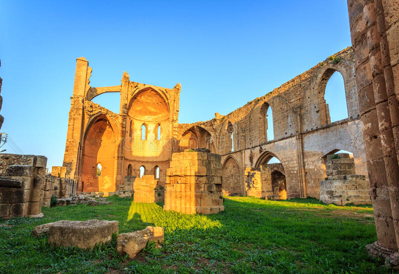 Church of Saint George of the Greeks, Famagusta. Cyprus royalty free stock photos