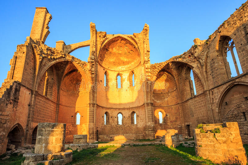 Church of Saint George of the Greeks, Famagusta. Cyprus stock photo