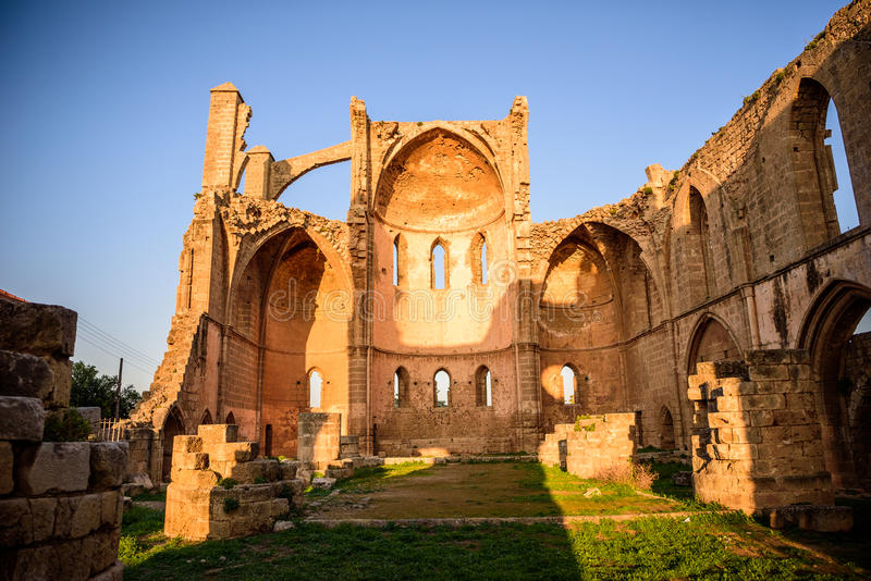 Church of Saint George of the Greeks, Famagusta, Cyprus. Church of Saint George of the Greeks in Famagusta, Northern Cyprus stock photos