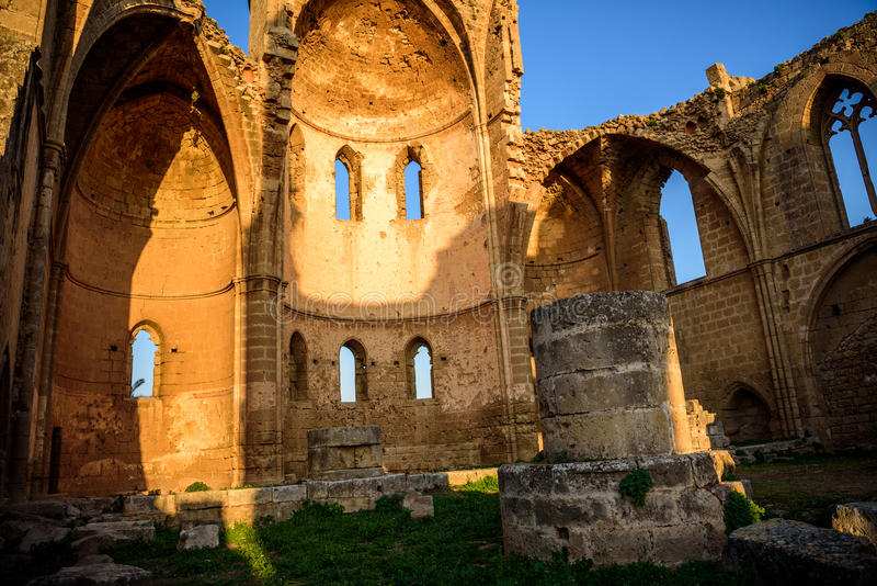 Church of Saint George of the Greeks, Famagusta, Cyprus. Church of Saint George of the Greeks in Famagusta, Northern Cyprus royalty free stock photo
