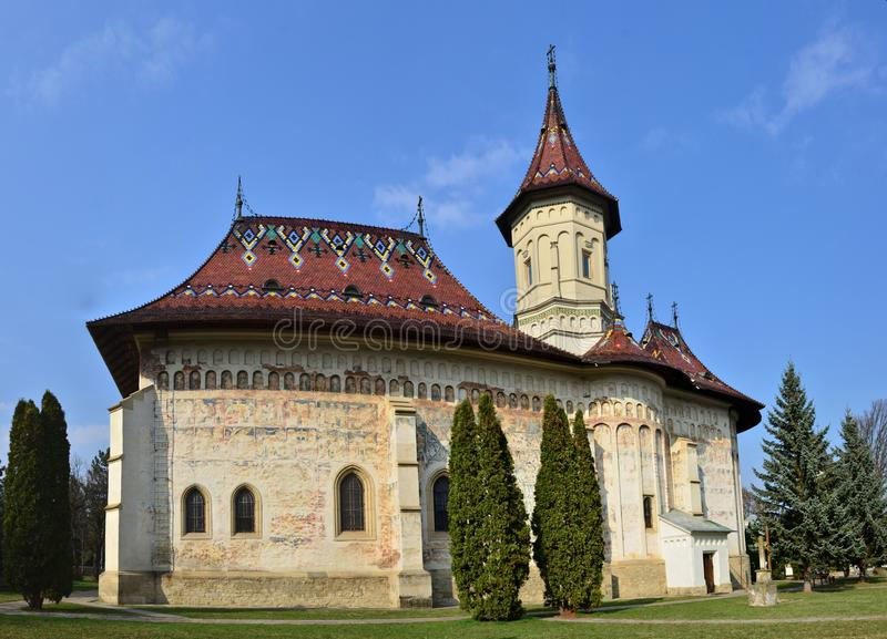 Church of Saint George, Suceava, Romania. Church of Saint George, part of the Monastery of Saint John the New, Suceava, Romania royalty free stock photo
