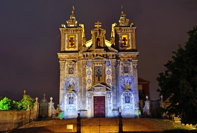 Church of Saint Ildefonso royalty free stock images