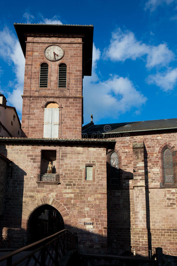 Download Church Of Saint-Jean-Pied-de-Port Stock Image - Image: 23615609