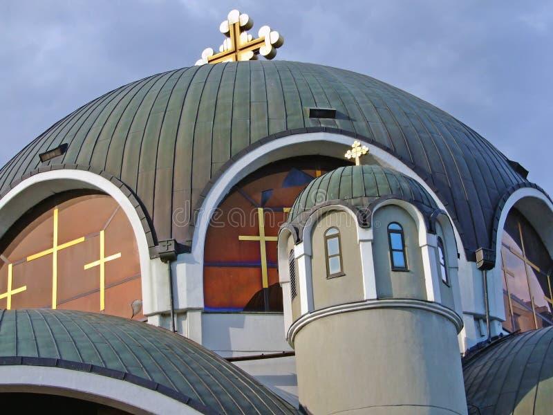 Church Saint Kilment from Ohrid royalty free stock photography