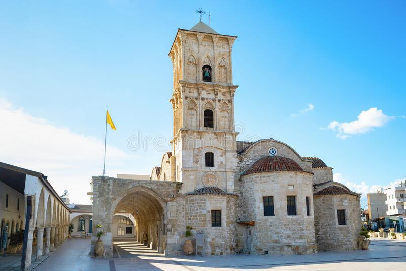 Church Saint Lazarus, Larnaka, Cyprus stock fotografie