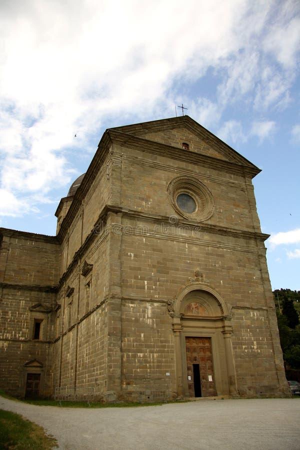 Church Of Saint Maria Delle Grazie Al Calcinaio In Stock Images