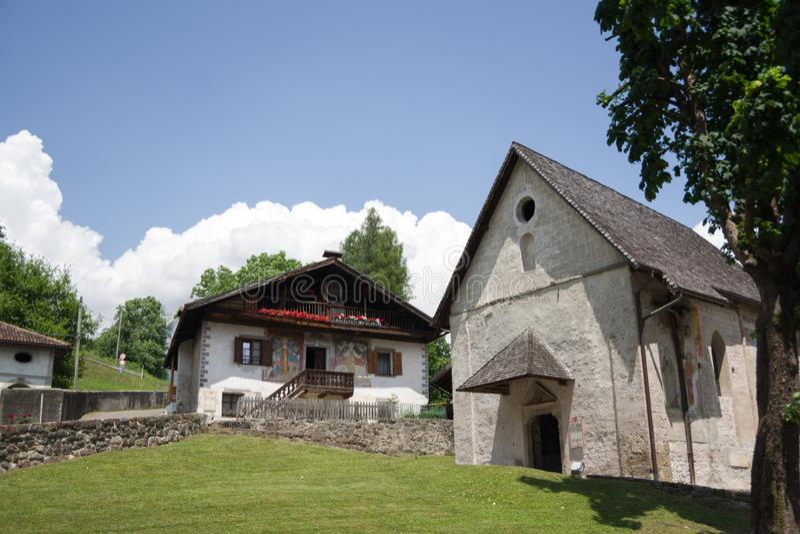 Church of Saint Martin royalty free stock photography