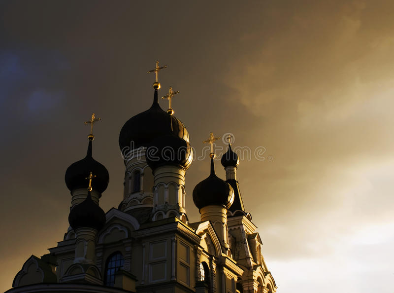 Church in Saint-Petersburg, Russia. royalty free stock image