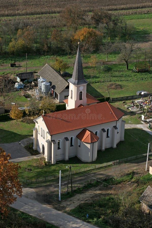 Church of Saint Roch in Kratecko, Croatia. Parish Church of Saint Roch in Kratecko, Croatia stock image