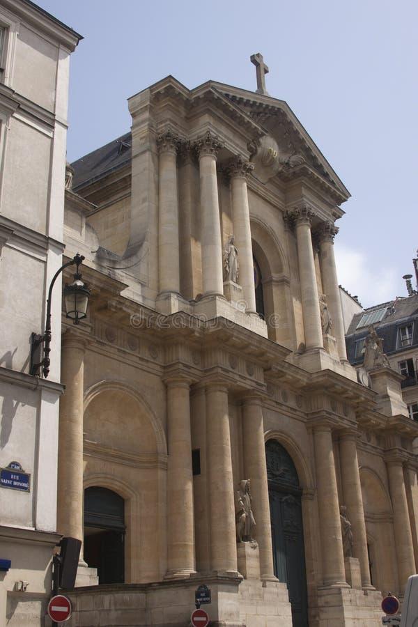 Church Saint-Roch stock photography