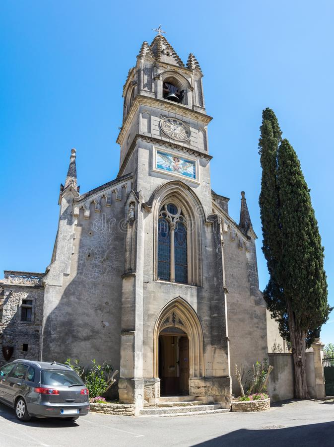 The Church of Saint-Roch royalty free stock photo