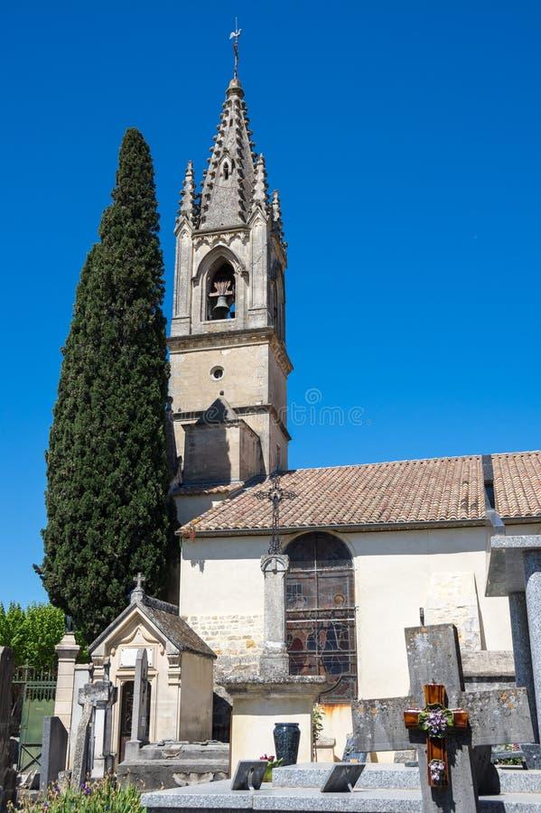 The Church of Saint-Roch stock photo