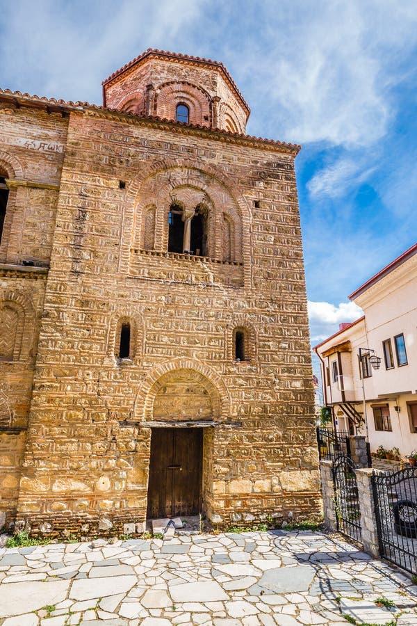 Church of Saint Sophia - Ohrid, Macedonia stock images
