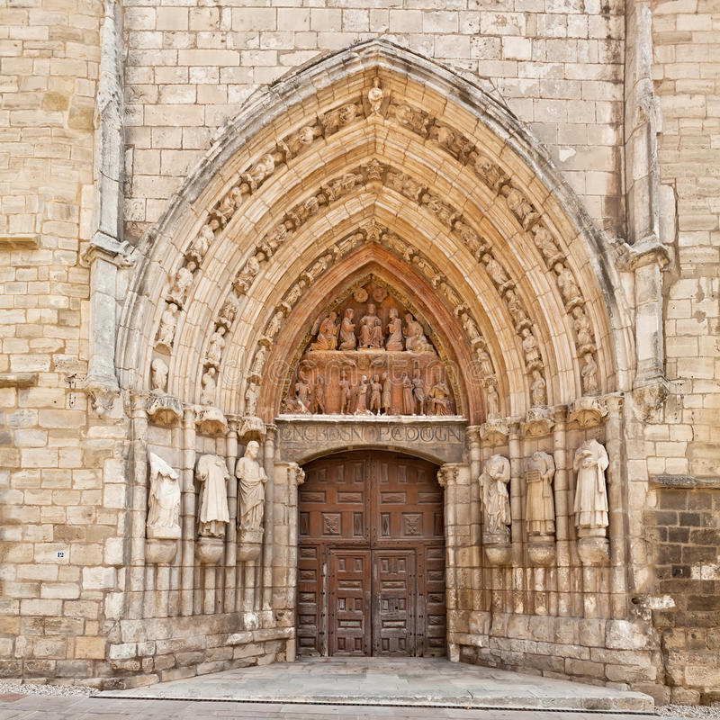 Download Church Of Saint Stephen In Burgos, Spain Stock Photo - Image: 26637270