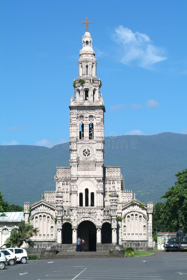 Download Church Of Sainte Anne On Reunion Island Stock Photo - Image: 24395586