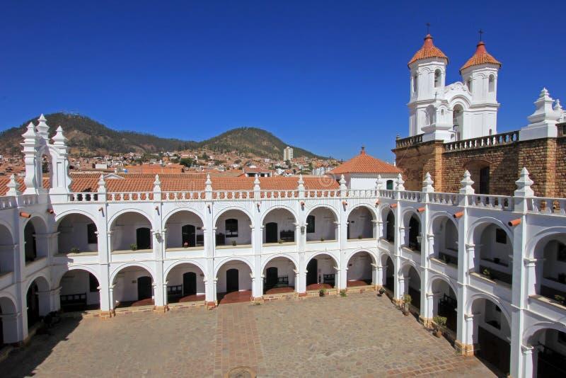Church Of San Felipe Neri Sucre Bolivia Stock Photo