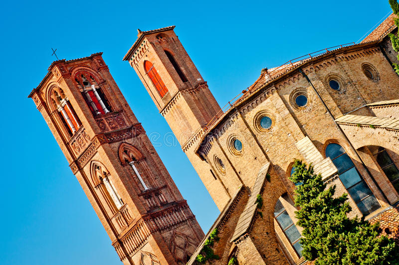 Church San Francesco Bologna Italy Stock Image