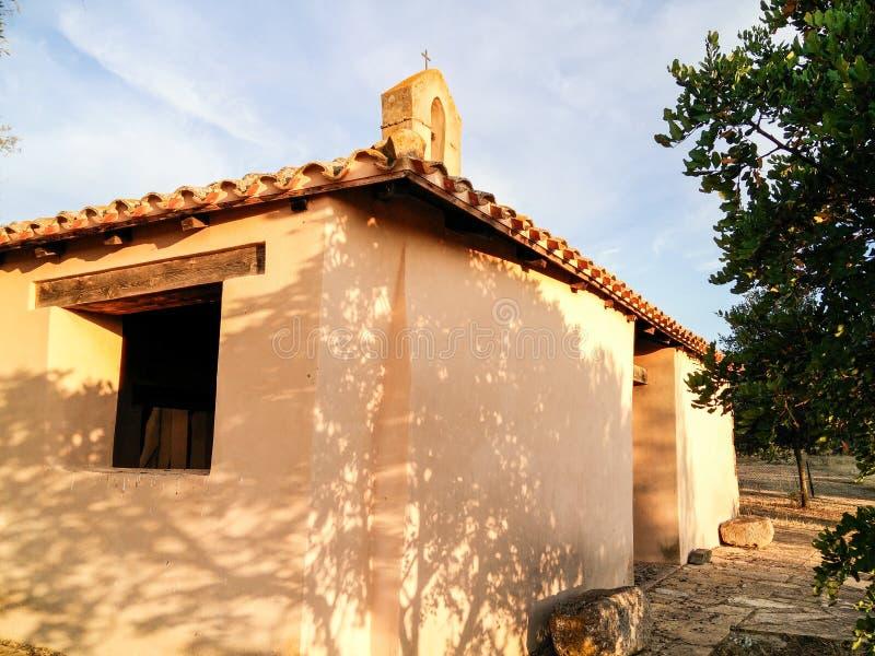 Sardinia. Architecture. Ancient churches royalty free stock photo