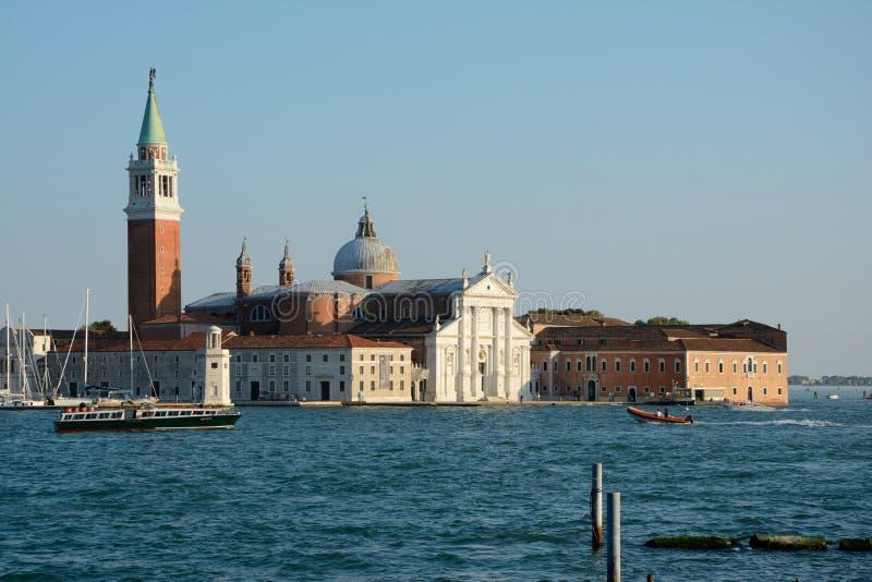 Download Church Of San Giorgio Maggiore And Boats In Venice, Italy Editorial Stock Photo - Image: 83706053