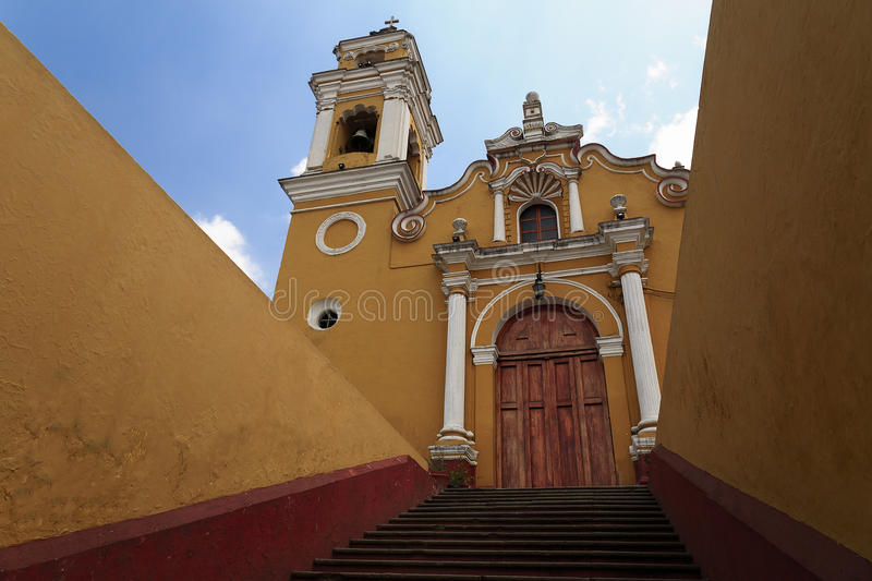 Church of San José in Xalapa. Church of San José, built in 1535, is the oldest church in Xalapa, Veracruz, Mexico royalty free stock photography