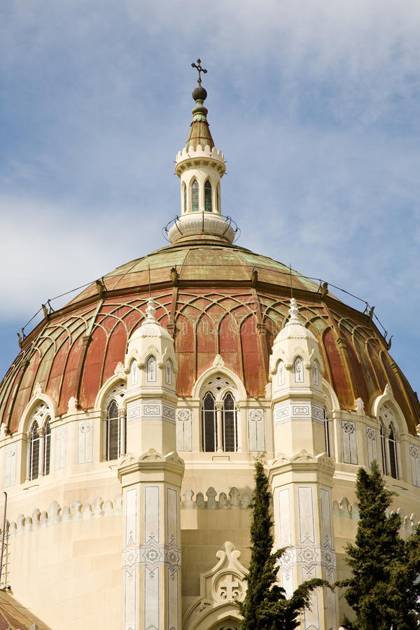 Church of San Manuel y San Benito, Madrid royalty free stock photos