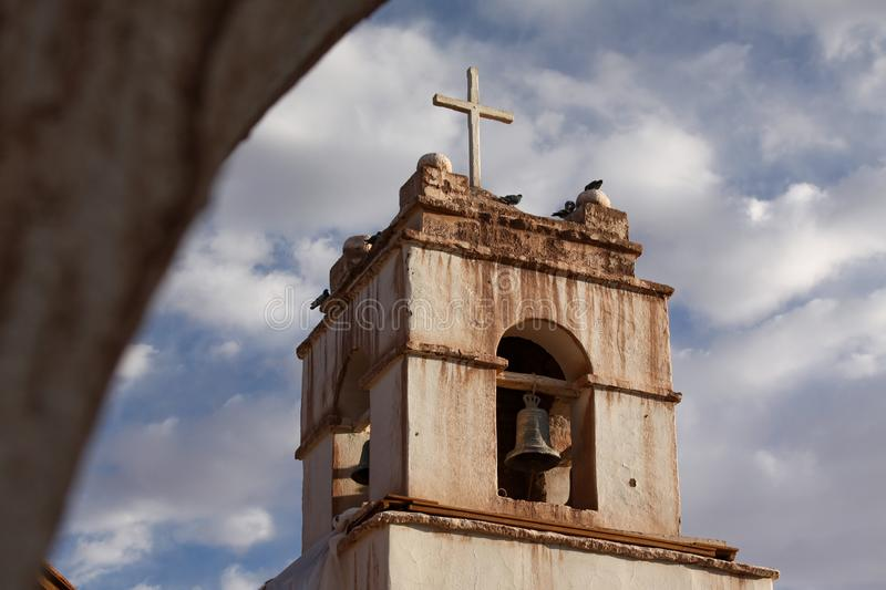 Church of San Pedro de Atacama royalty free stock photography