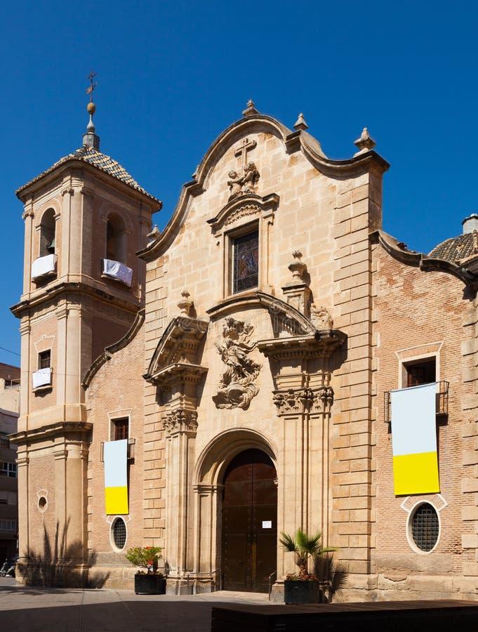 Church Of Santa Eulalia. Murcia Stock Photo