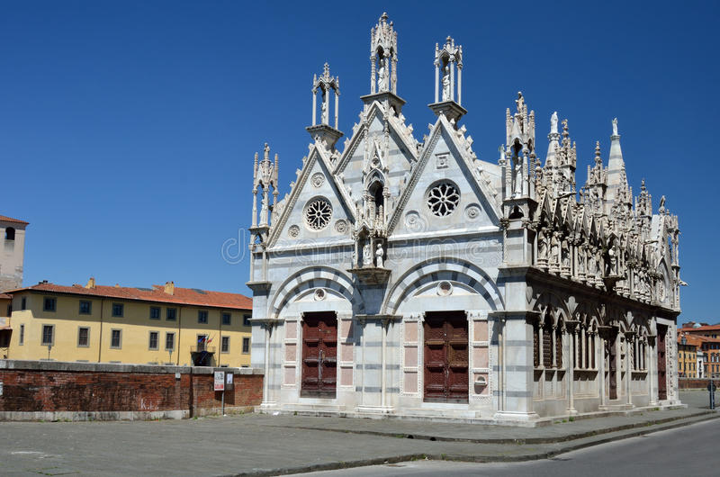 Download Church Santa Maria De La Spina, Pisa, Italy Stock Image - Image: 19533227