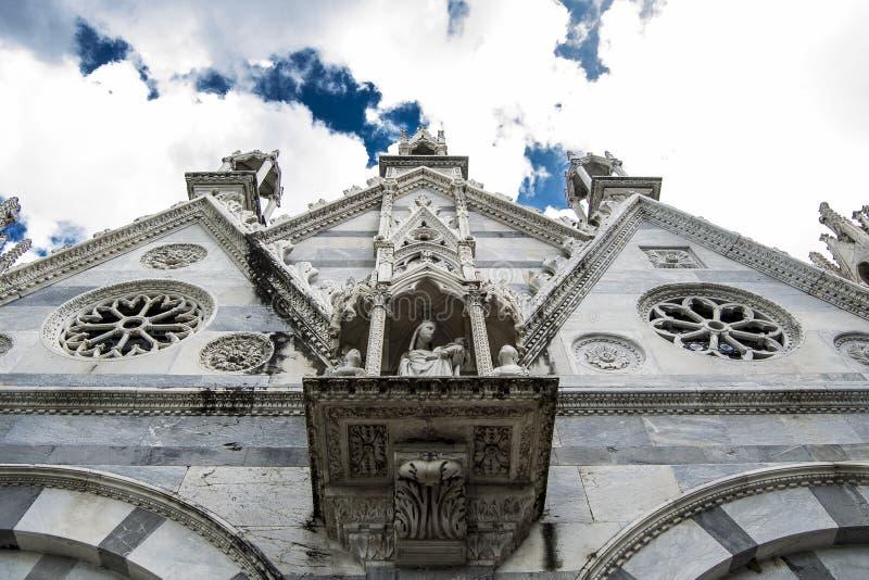 Church of Santa Maria Della Spina (Pisa) royalty free stock photos