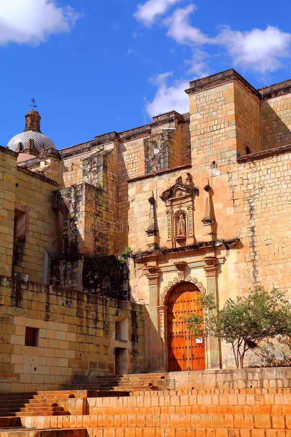 Church of Santo Domingo de Guzman in Oaxaca royalty free stock image