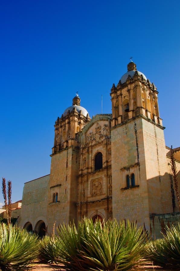 Church of Santo Domingo de Guzman. Oaxaca, Mexico. Church of Santo Domingo de Guzman, Oaxaca, Mexico stock photography