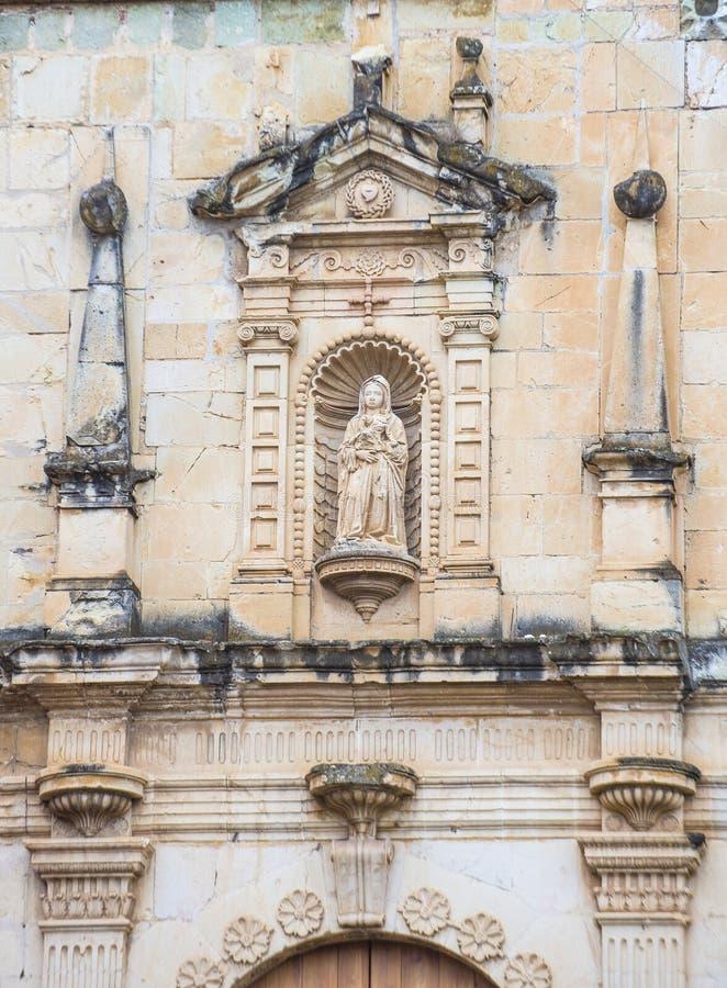 The church of Santo Domingo de Guzman in Oaxaca Mexico stock photography