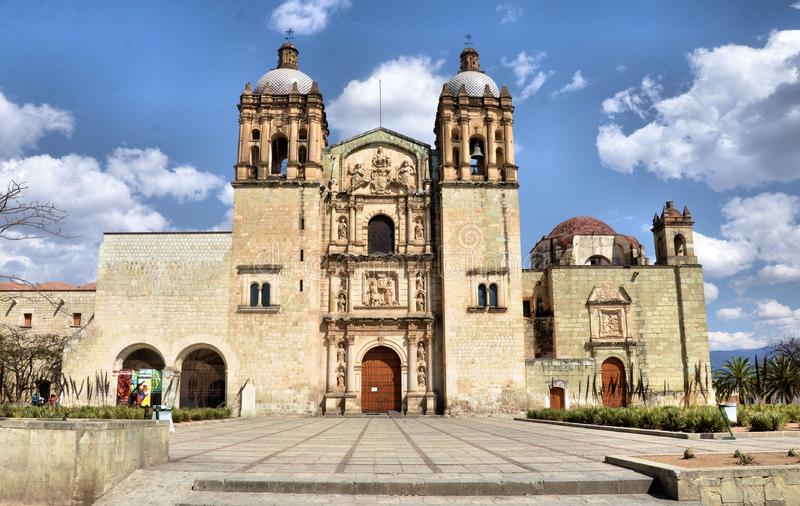 Church of Santo Domingo, Oaxaca royalty free stock photos