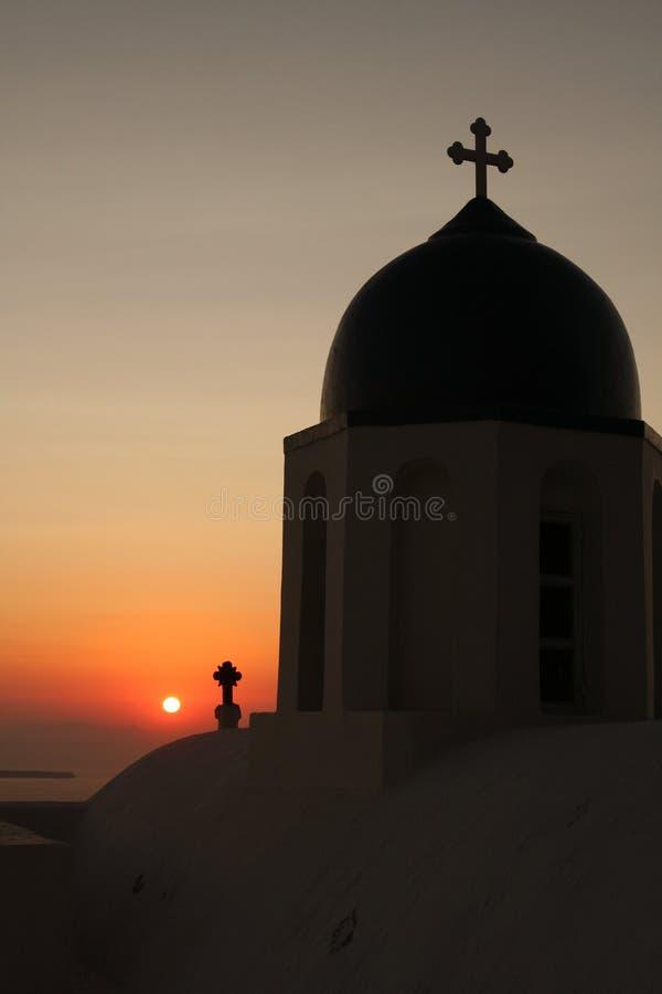 Download Church on Santorini stock image. Image of church, greek - 10138355