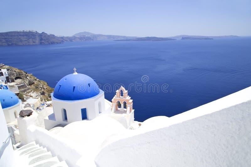 Church on Santorini stock photo