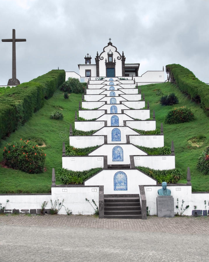 Download Church At Sao Miguel Island Stock Image - Image: 26518629