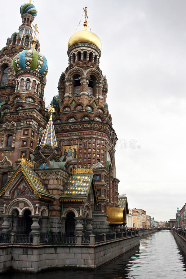 Church of the Savior on Blood royalty free stock photography