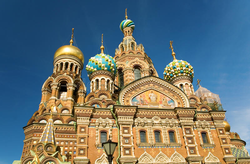 Download Church Of The Savior On Spilled Blood Stock Image - Image: 10898257