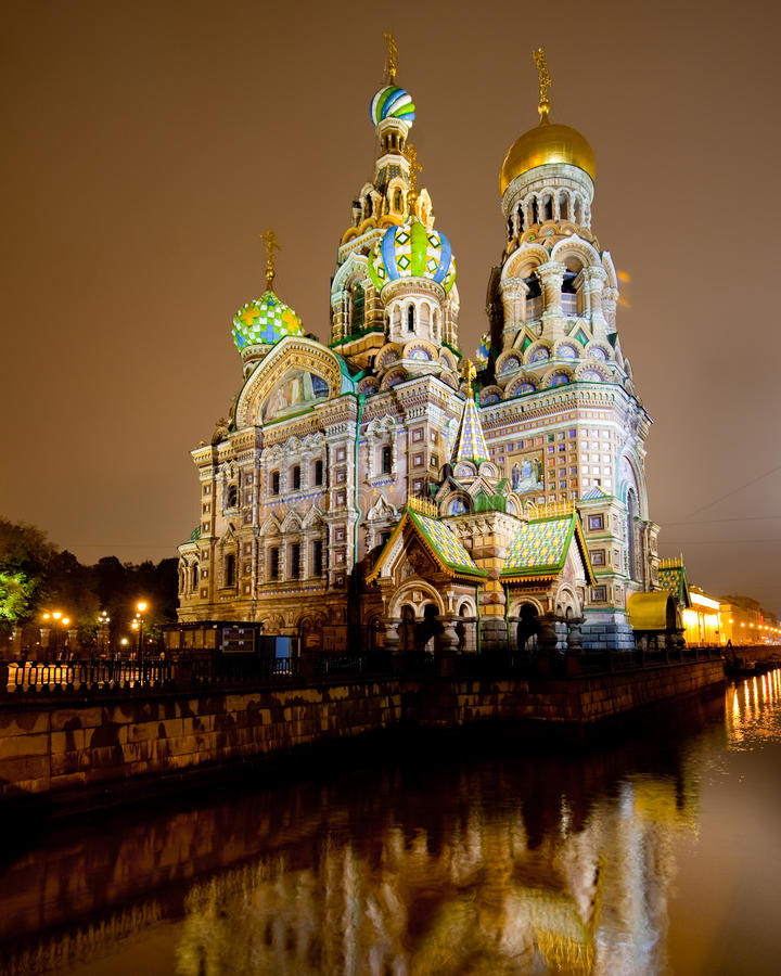 Download Church Of The Savior On Spilled Blood Stock Image - Image of resurrection, blood: 13652251