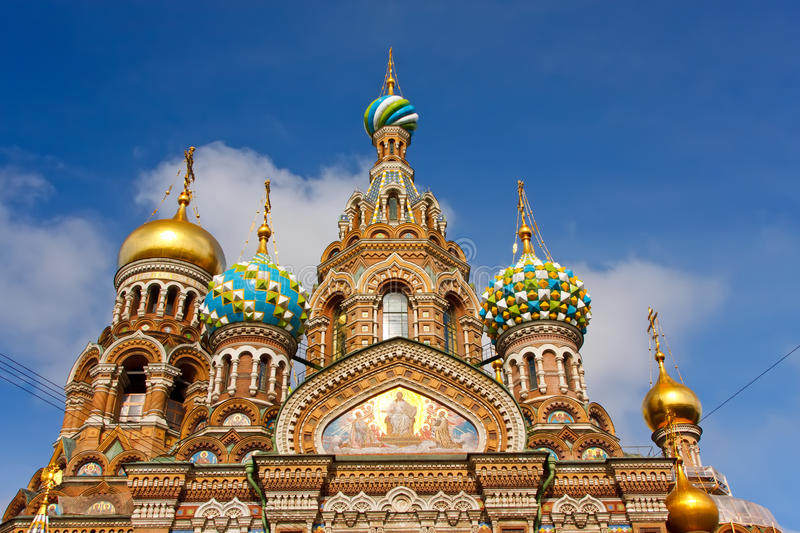 Download Church Of Savior On Spilled Blood Stock Image - Image of richly, faith: 13955763
