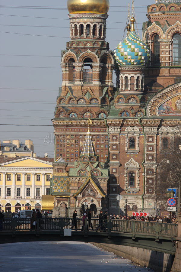 The Church of the Savior on Spilled Blood.