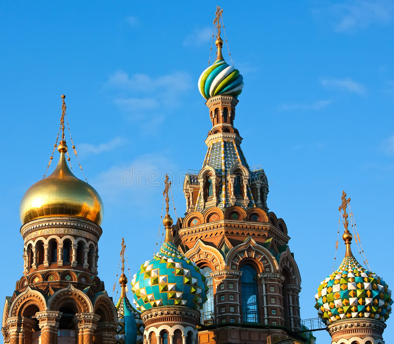 Download The Church Of The Savior On Spilled Blood Stock Image - Image of crosses, dome: 9134393