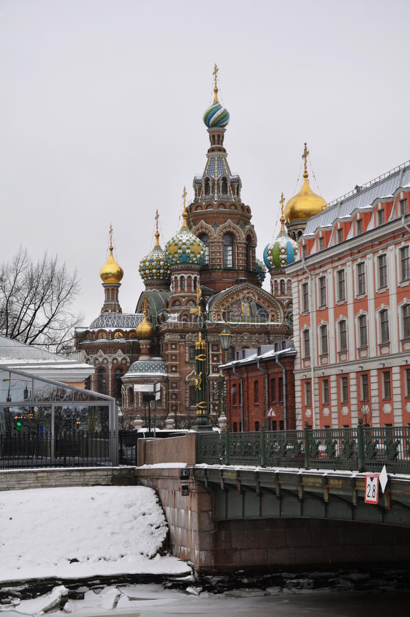 Church of the Saviour on Spilled Blood. Saint Petersburg. Russia. royalty free stock photos