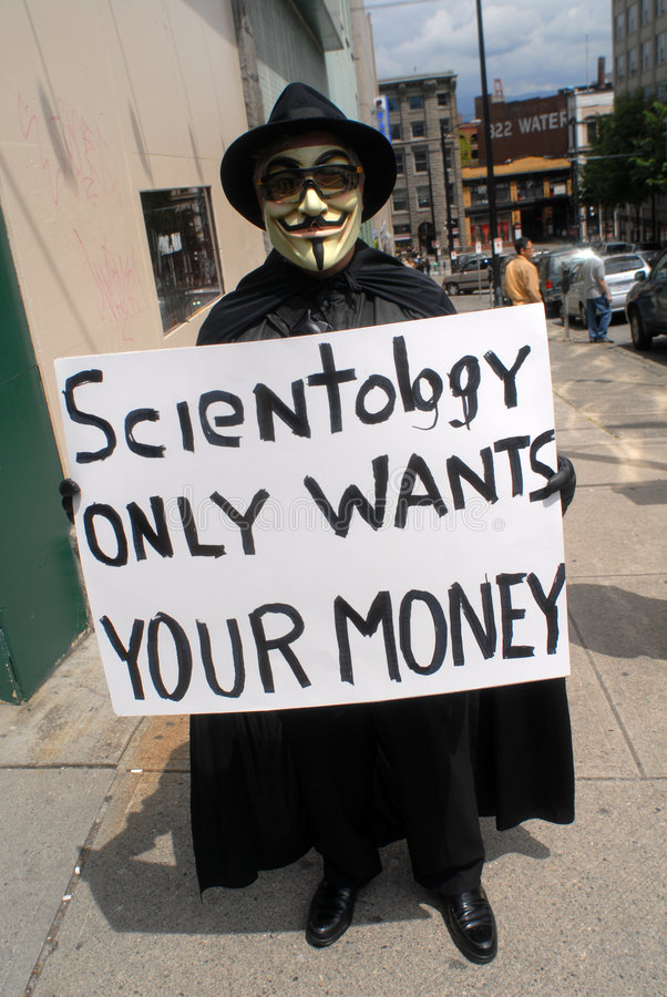Church of Scientology protest