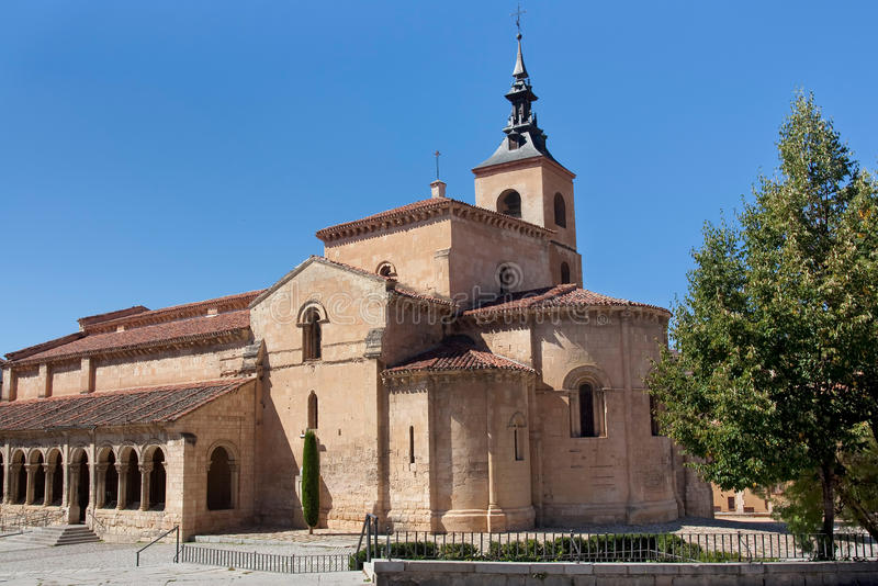 Download Church in Segovia stock photo. Image of close, flowers - 22770270