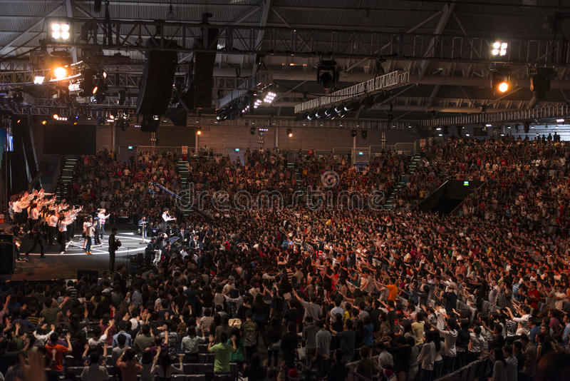 Download Church Service editorial photo. Image of crusade, conference - 28209836