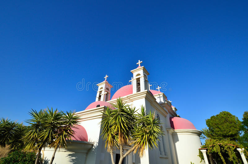 The Church Of The Seven Apostles Stock Images