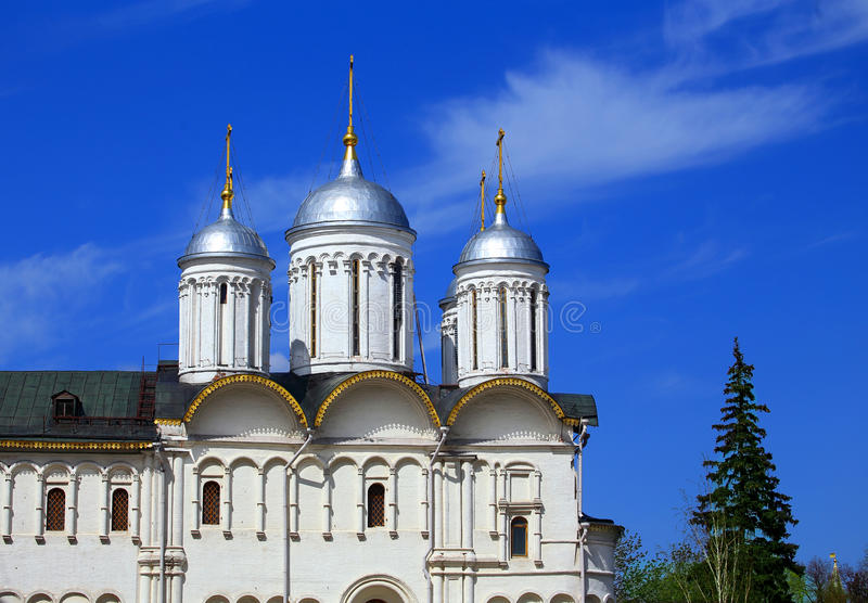 Church of the seventeenth-century in Moscow Kremlin royalty free stock images